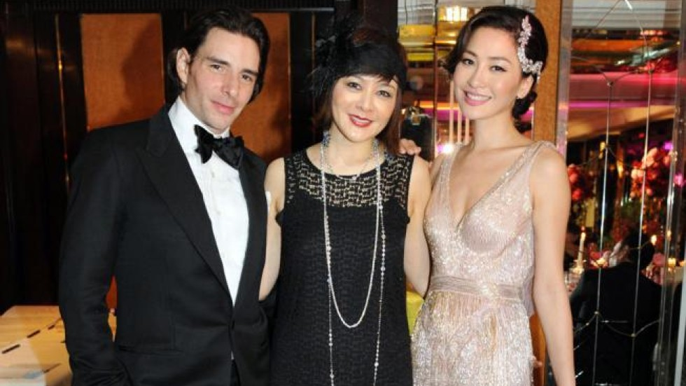 Kathy Chow, Julien Lepeu celebrate wedding with 1920s ...