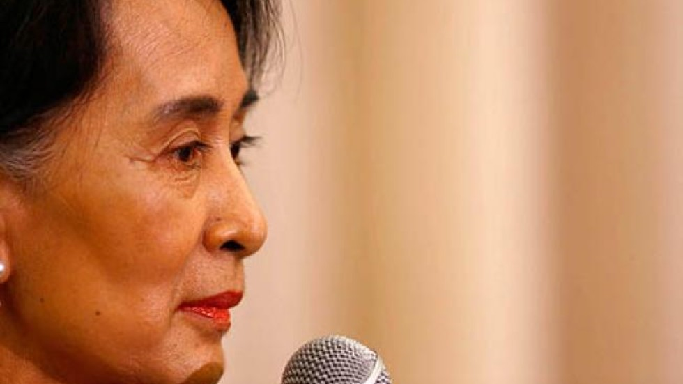 aung san suu kyis speech Aung san suu kyi's nobel prize acceptance speech twenty-one years after she won the award, the burmese leader delivered the nobel lecture on her fight for human rights in her native country (2:27.