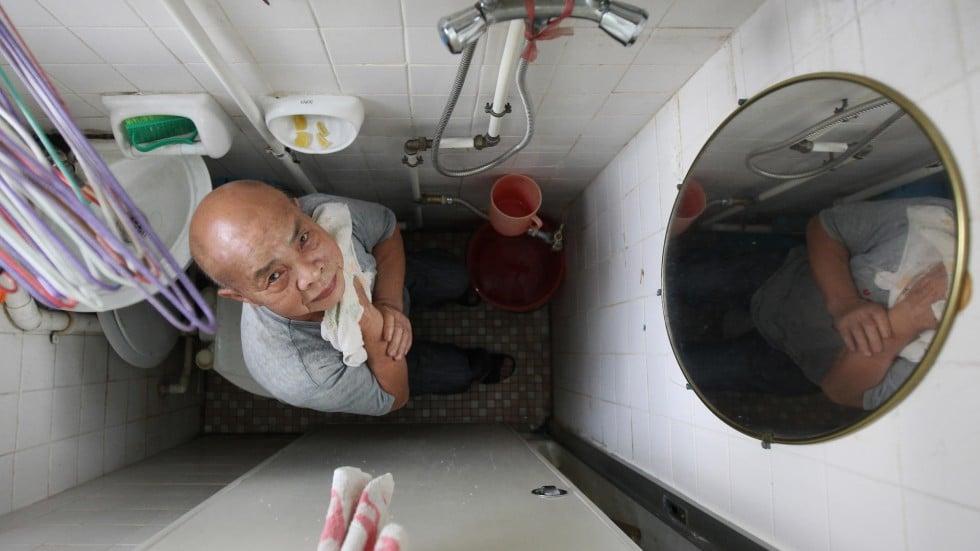 Tiny Bathroom With Shower