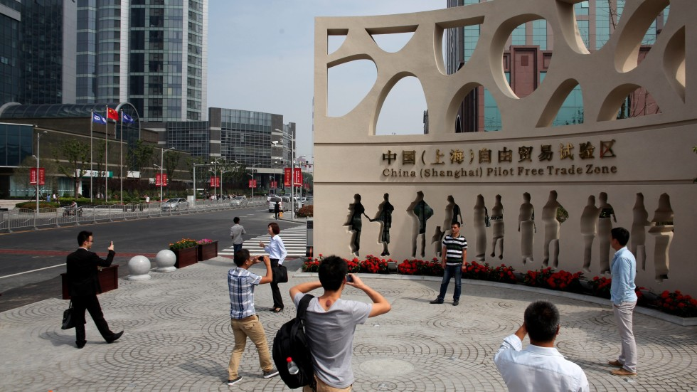 china shanghai pilot free trade zone