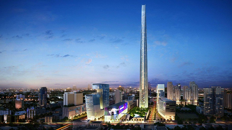 New Bangkok Super Tower To Be Tallest In Southeast Asia