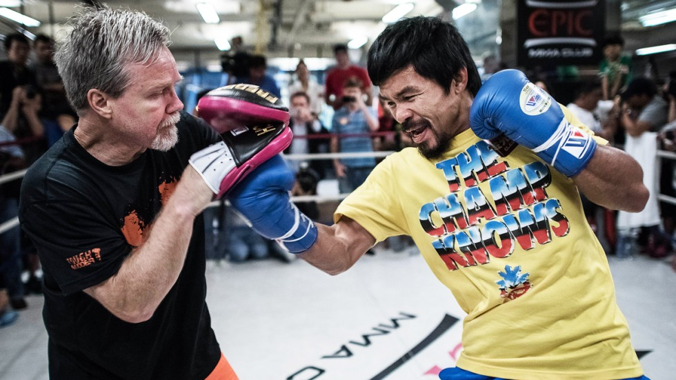 Image result for Manny Pacquiao fires trainer Freddie Roach after 34-fight run