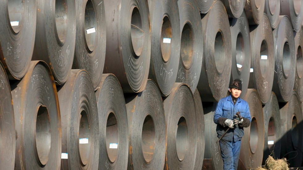 China's No 1 steelmaker wants to be the next Alibaba selling steel on