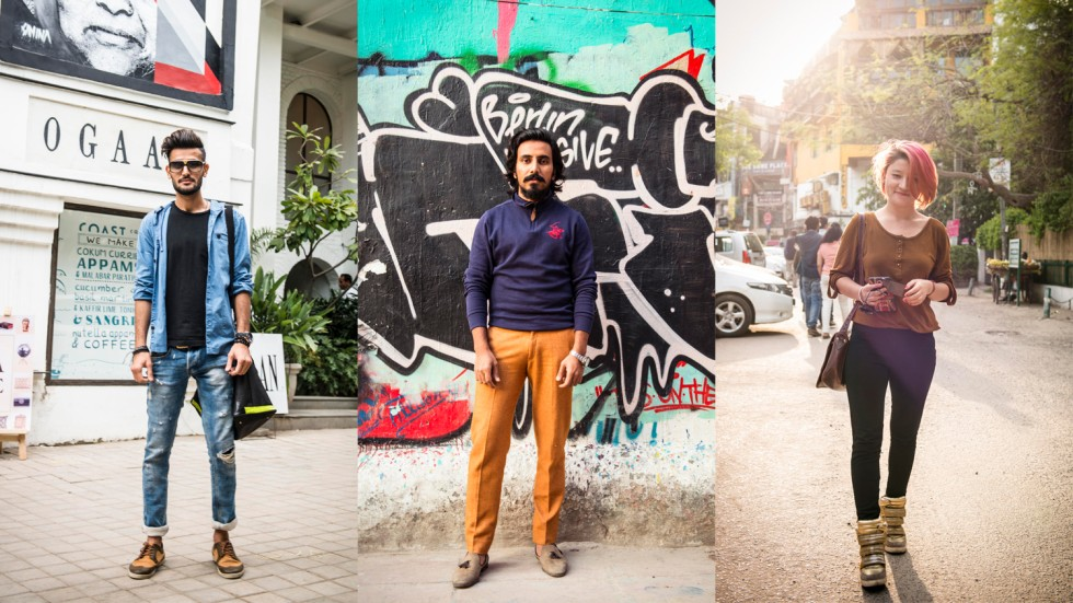 Urban outfits: Three looks on the street in New Delhi. Photos: Karan Kumar  Sachdev