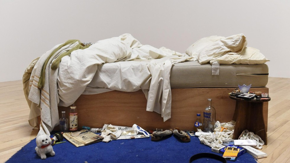 tracey emin s unmade bed back on show in britain south china