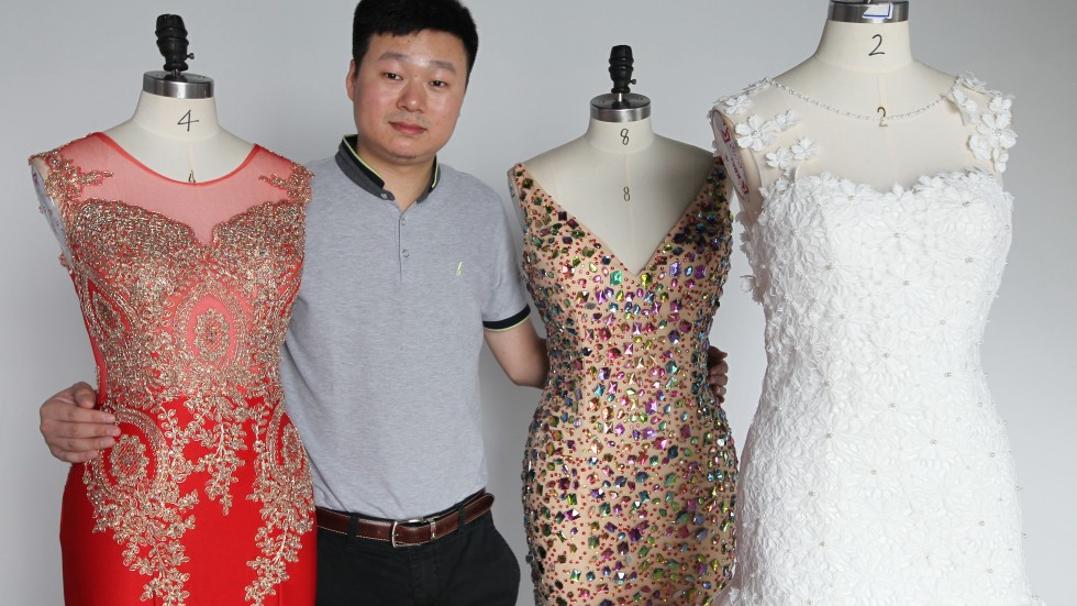 Chinese wedding dress exporter finds success by being good for Chinese website for wedding dresses