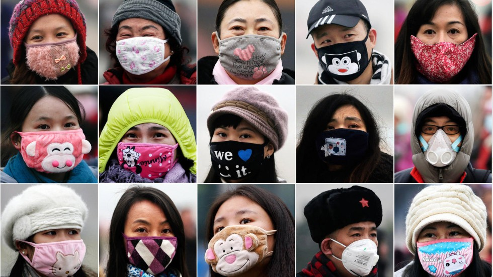 Protection, Beijing style: face masks outsell condoms as