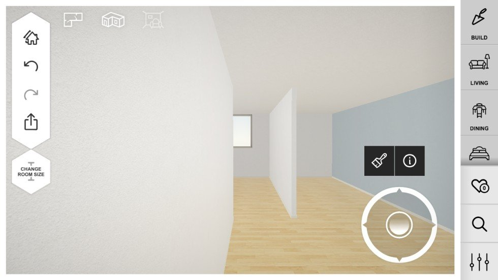 Seeing is knowing how augmented reality apps are helping amateur amikasa allows you to create a blueprint of your room from scratch before populating it with furniture and dcor malvernweather Gallery