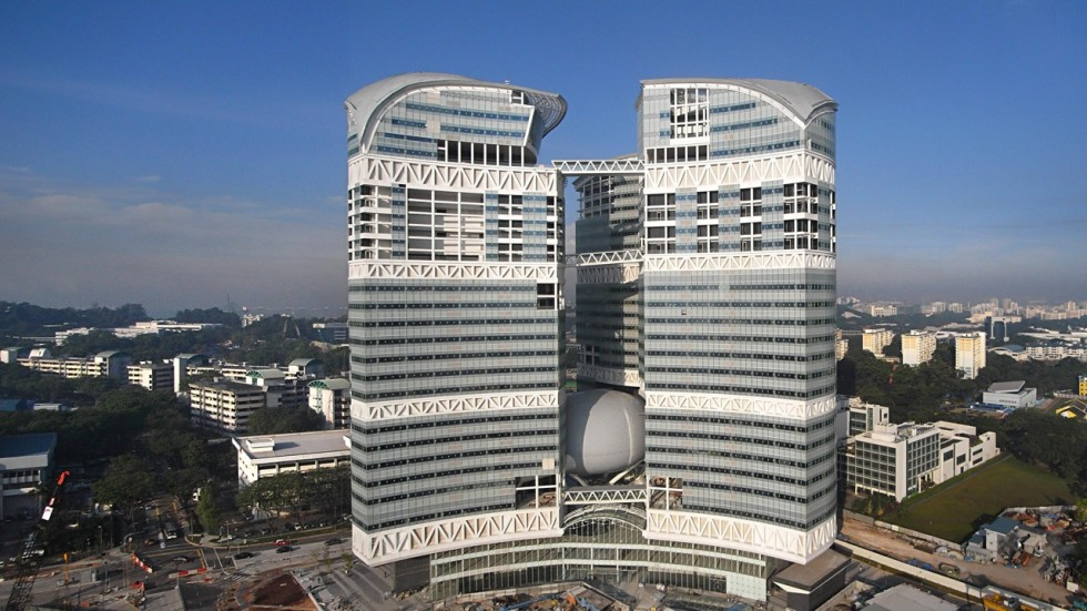 Fusionopolis two singapore launches new research hub for science
