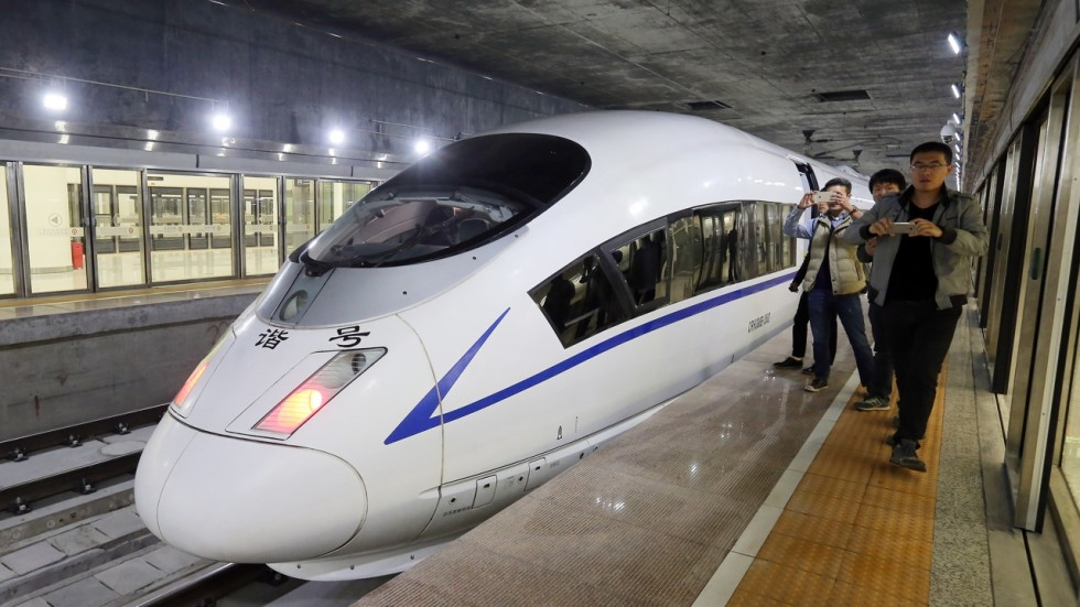 50 Minutes To Guangzhou New Express Rail Station Debuts