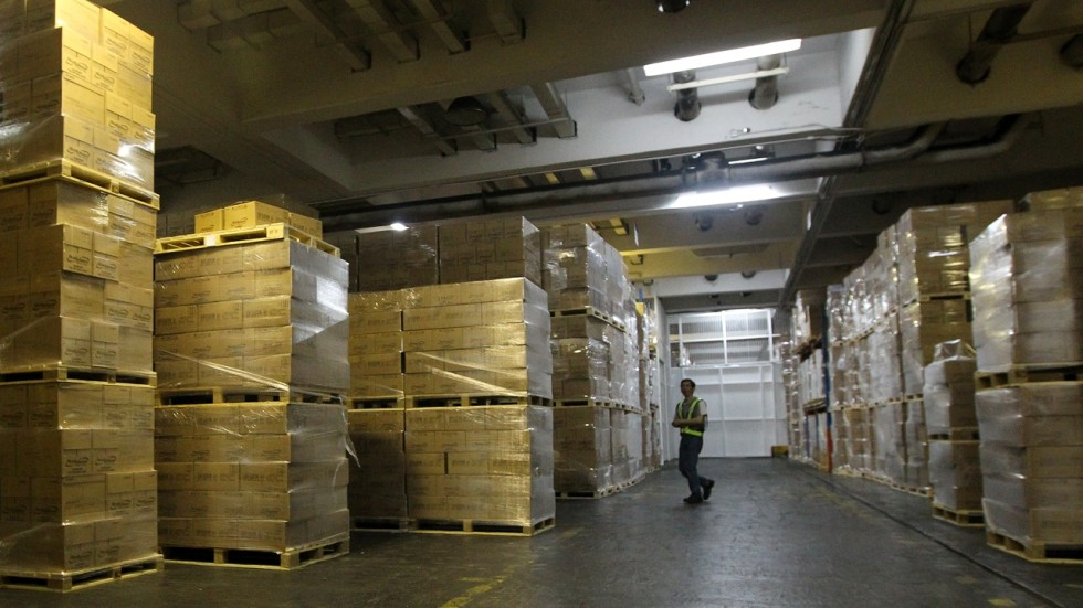 Shortage Of Warehouse Space In Hong Kong Likely To