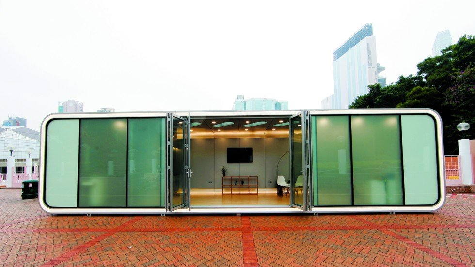 Cheap Hong Kongdesigned container homes the way of the future
