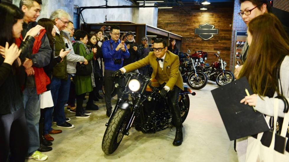 Room To Roam In Harley Davidson S New Hong Kong Showroom