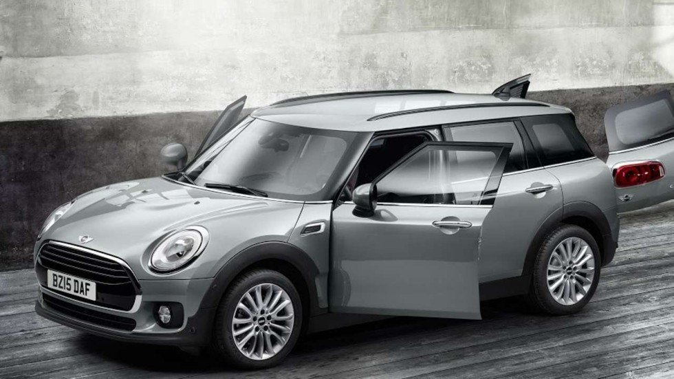 Supersized Mini Cooper Clubman Gets A Hi Tech Makeover