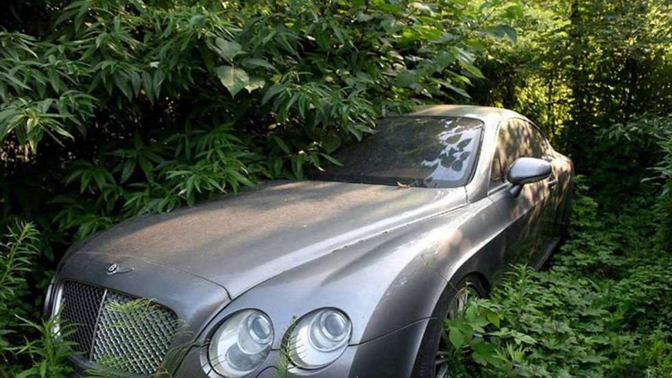 Luxury Audis Bentleys Mercedes Among Abandoned Cars