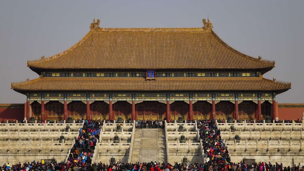 Forbidden City to knock down all modern buildings at ...