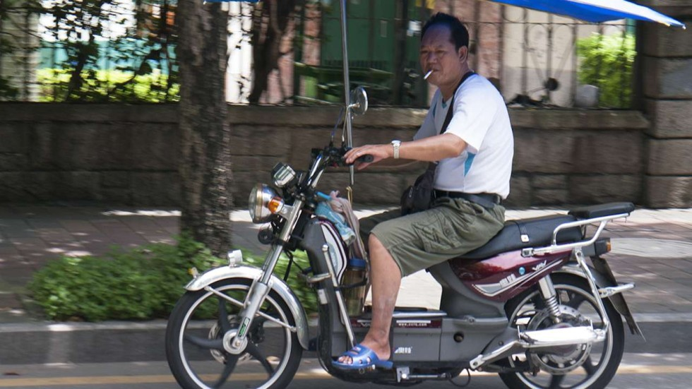 Hong Kong's secret, illegal e-bikers crying out for power ...