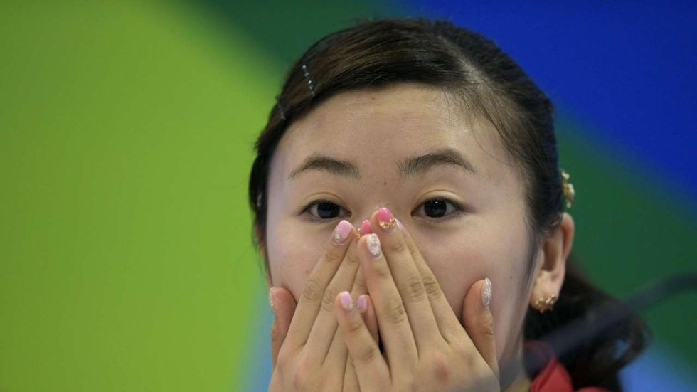 Chinese netizens rally behind      Japanese Doll      Ai Fukuhara after     South China Morning Post Olympic table tennis player Ai Fukuhara of Japan has been a hit with many Chinese fans
