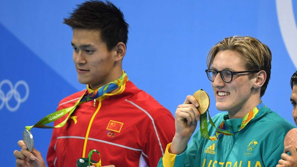 Sun Yang declares war: I'm the king, he tells  nemesis Mack Horton as China and Australia  trade barbs