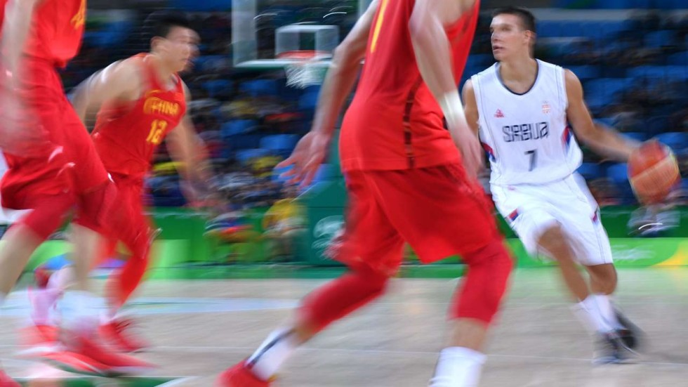 1d9c6922a201 China dumped out  Serbia win 94-60 to advance in Rio men s basketball  competition