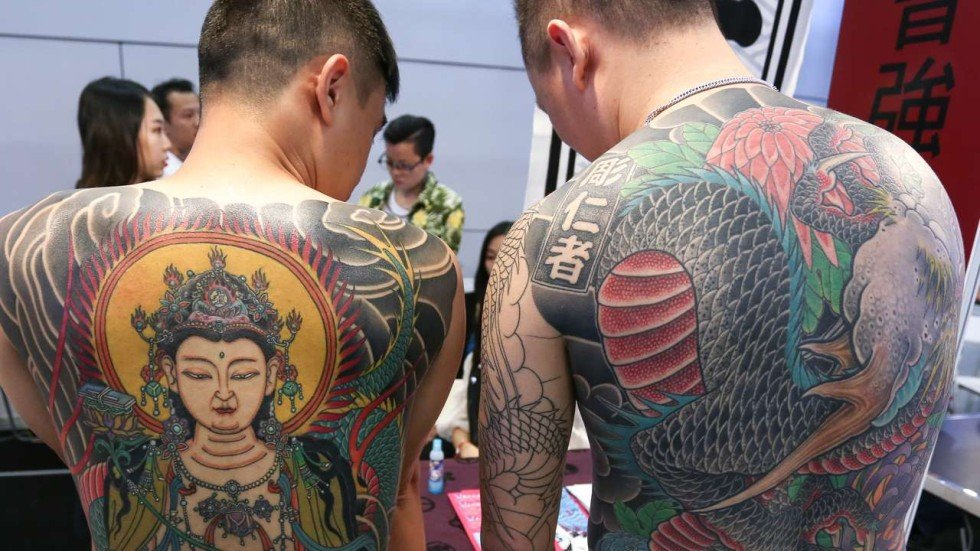 Respect the art hong kong tattoo convention hopes to for Chinese triad tattoo