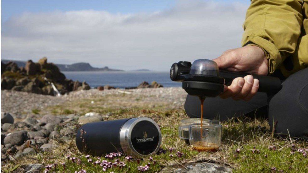Beautiful Coffee Makers For Camping Outdoor Set O And Design Inspiration