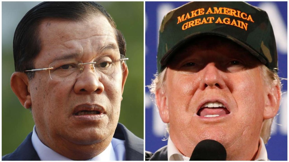 Image result for hunsen trump