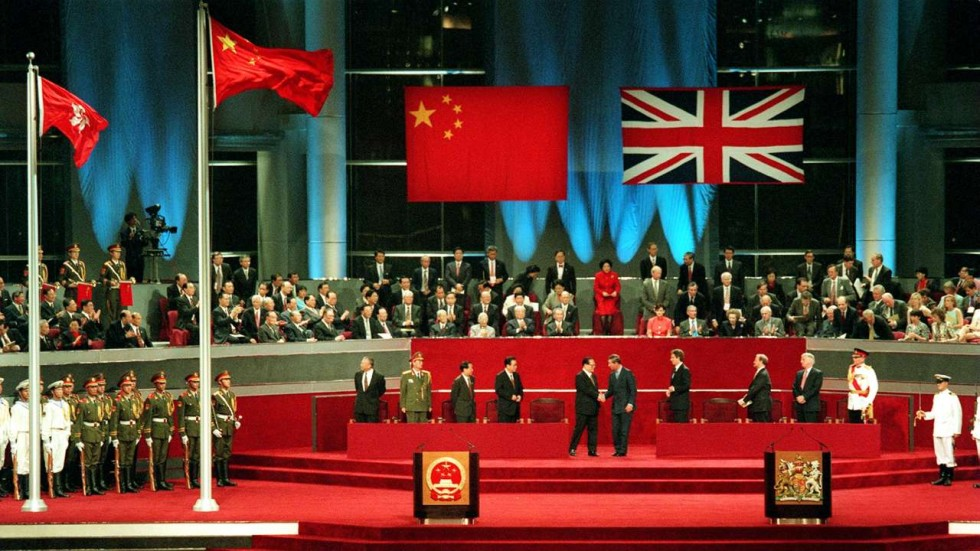 a history of hong kong pre china takeover the british colonial rule