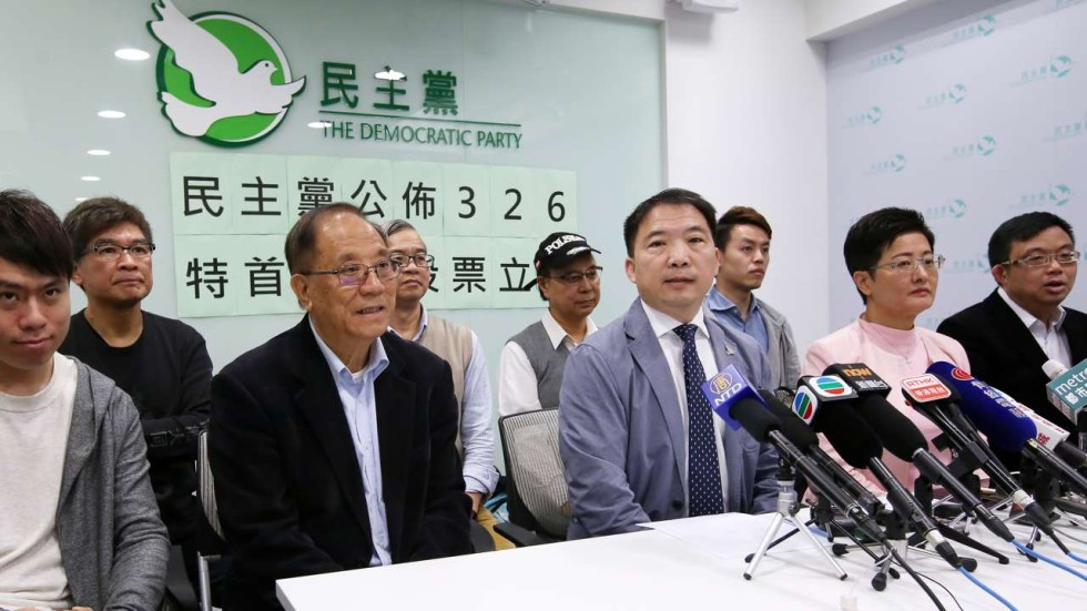 Pan-democrats pledge more than 290 votes for John Tsang in ...