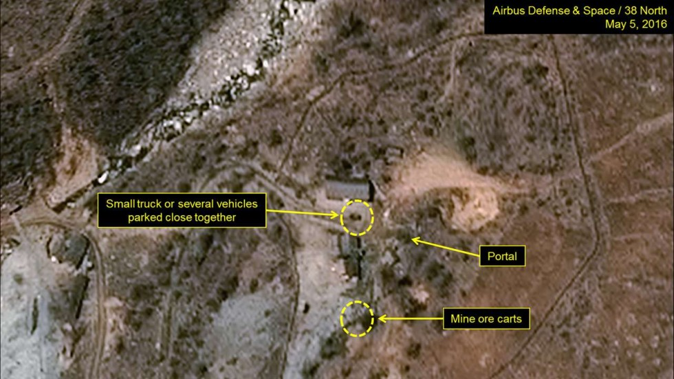 Satellite Images Show Activity At North Korean Nuclear Test Site - Satellite map sites