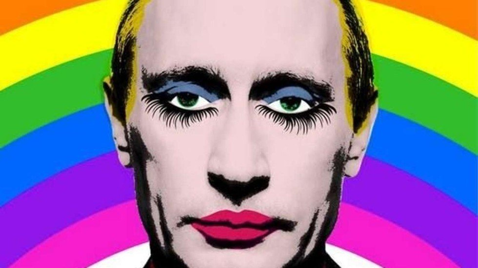 Image result for putin gay clown