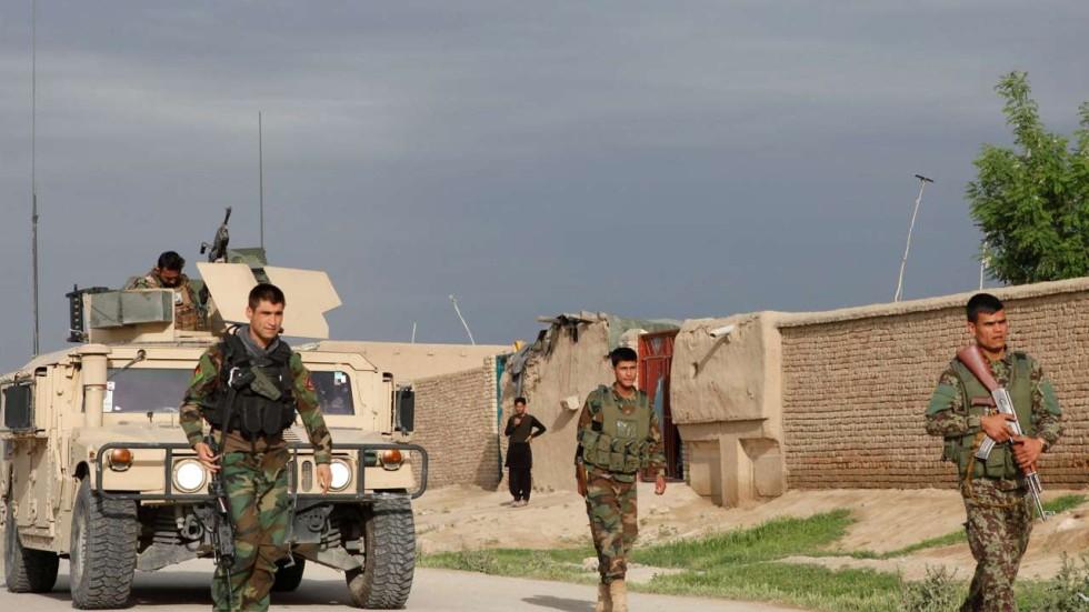 Talibaner del av afghansk losning
