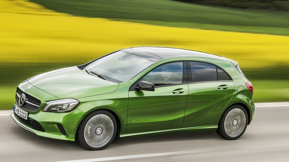 Mercedes-Benz A180d hatchback is a well-styled, practical compact for your latest property in ...