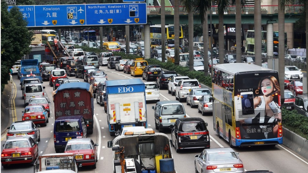 Image result for hong kong traffic