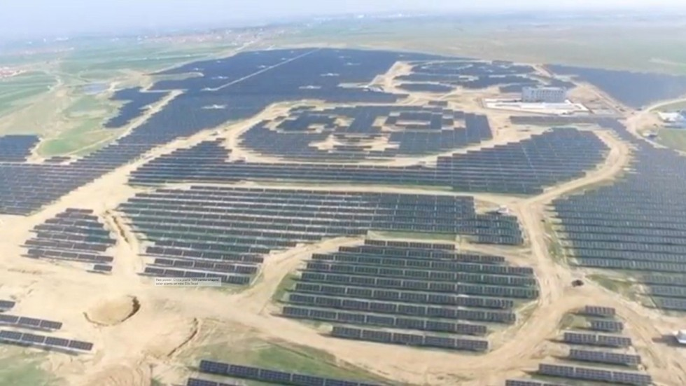 Paw Power 100 Panda Shaped Solar Plants Planned For China