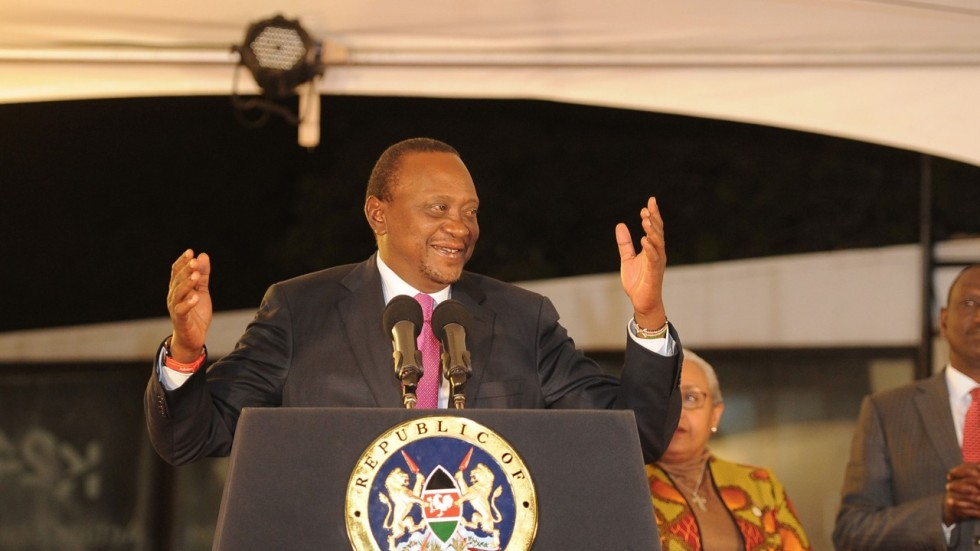 Billedresultat for Uhuru kenyatta declare winner