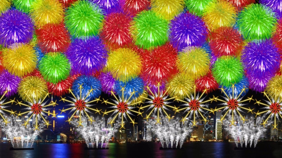 3D hearts and birthday cakes to light up Hong Kong sky as part of