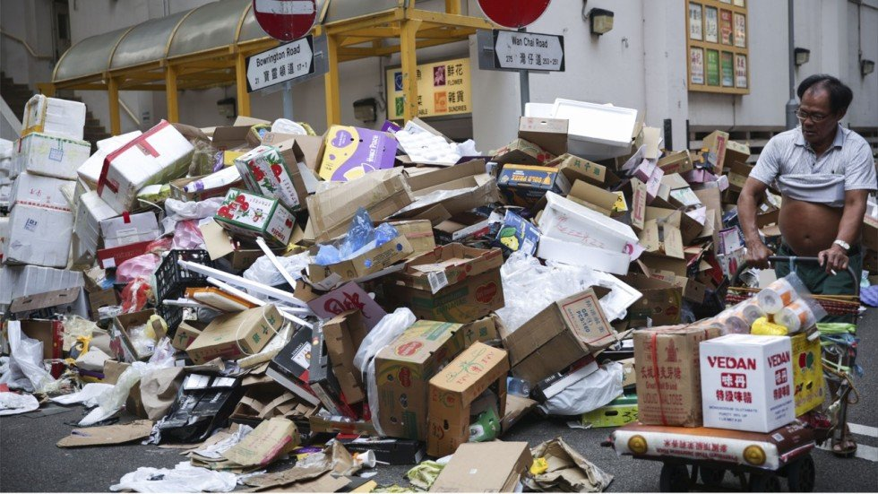 Waste Paper Collection Resumes In Hong Kong As Firms Call