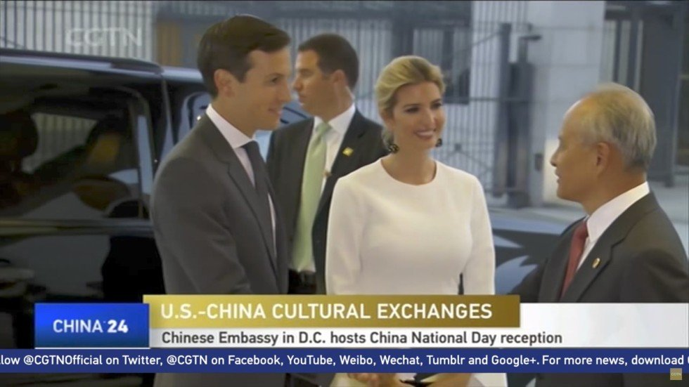 Image result for photos of kushners working in china