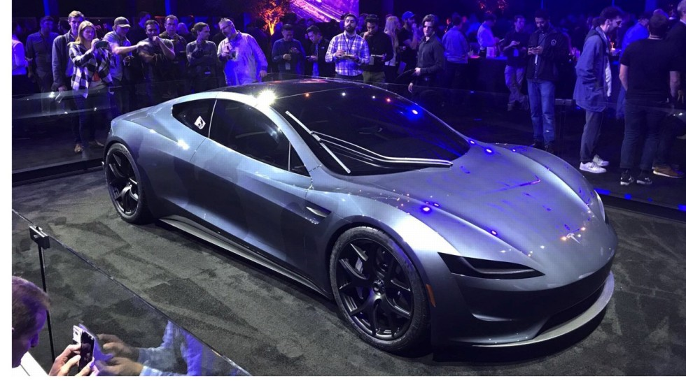 Tesla Roadster: Elon Musk boasts new US$250,000 sports car will be ...