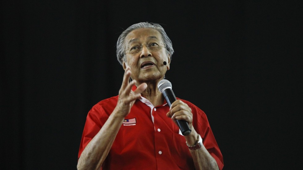 Image result for Man of the Moment Mahathir Mohamad