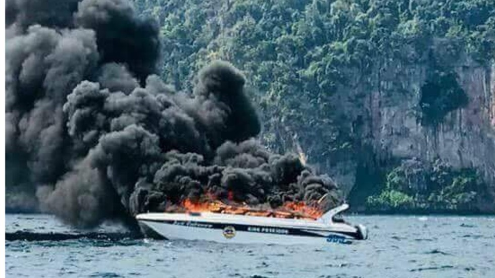 Image result for Five Chinese tourists severely injured as  Speedboat explodes in Thailand