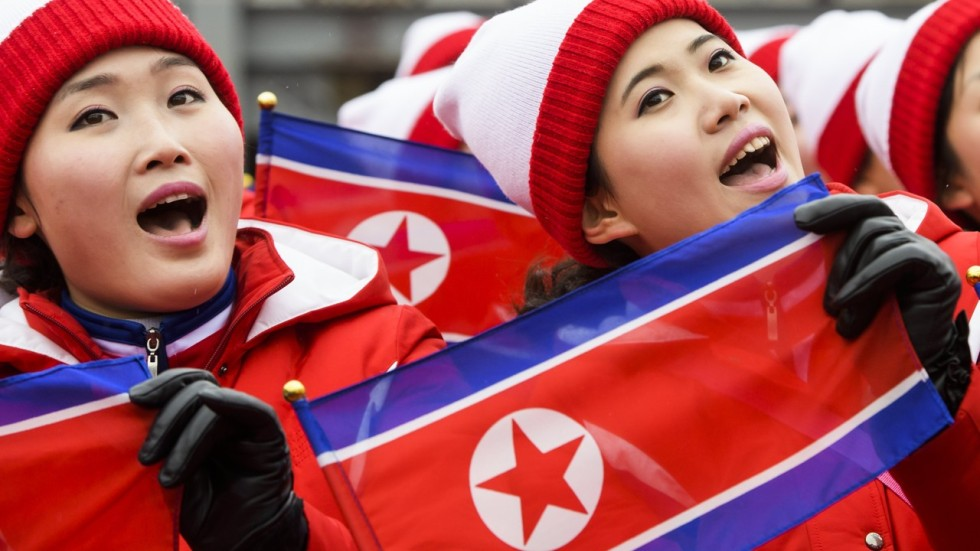 They Are Like The Military I Pity Them North Korean Cheerleaders