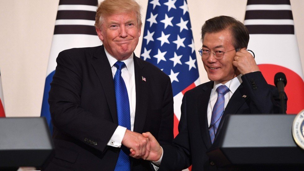 Donald trump closes his first trade deal horrible south korea agencies platinumwayz
