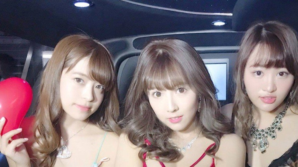 Japanese Porn Star K-Pop Girl Group Honey Popcorn To Hold -6601