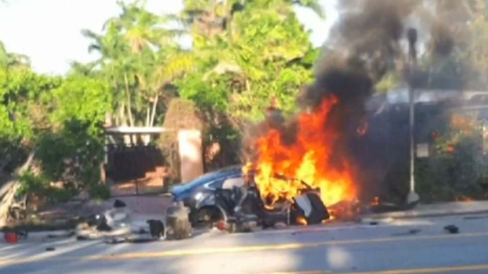 Tesla Model S That Exploded In Florida Hit 185km H Before