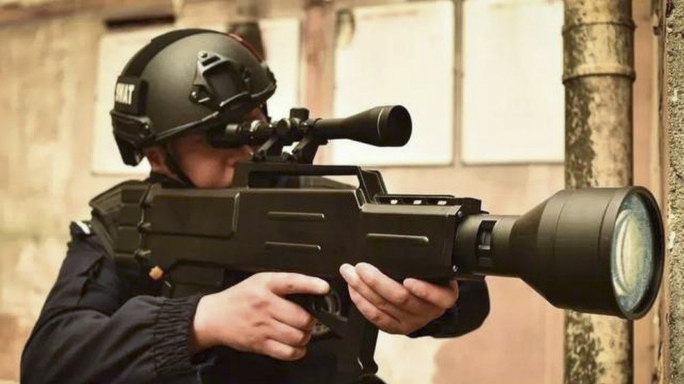 China Brings Star Wars To Life With Laser AK 47 That Can Set Fire