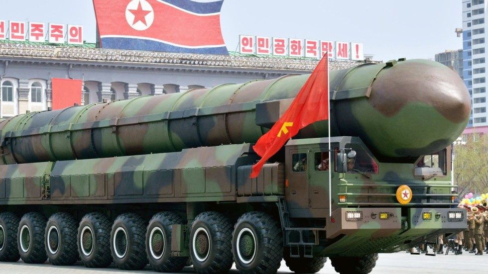 Image result for north korea missile parade