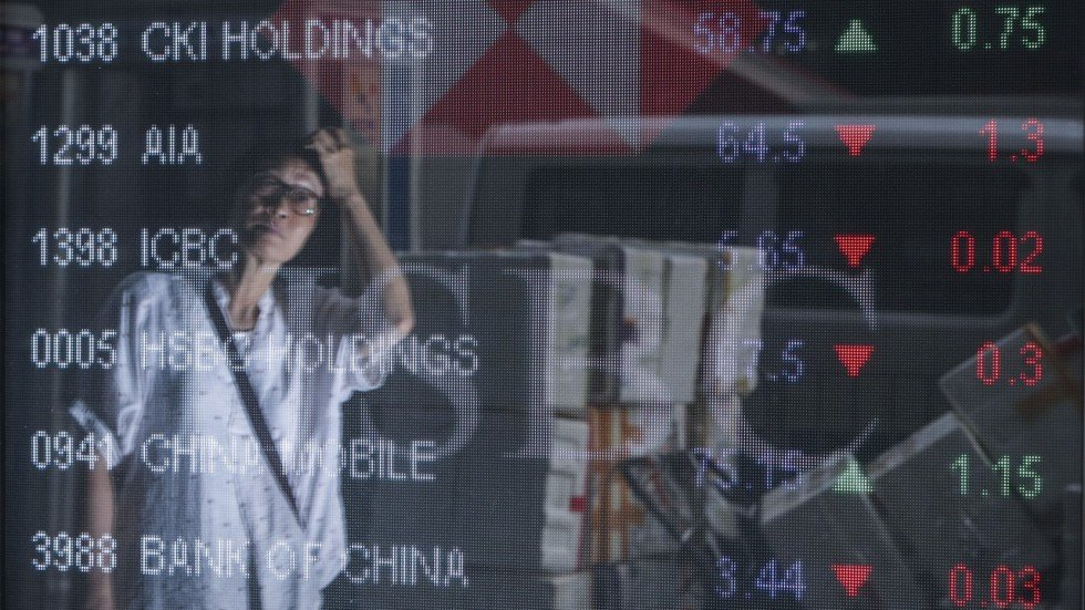 Hong Kong Stocks Post Biggest Daily Fall In A Month As Weak China