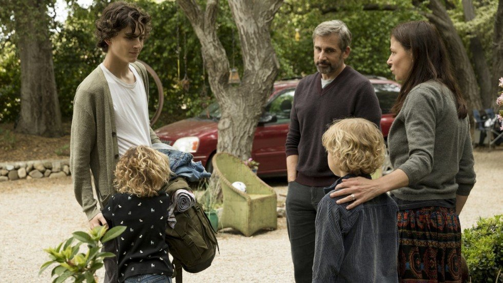 Beautiful Boy Film Review Timothee Chalamet Steve Carell In Grim